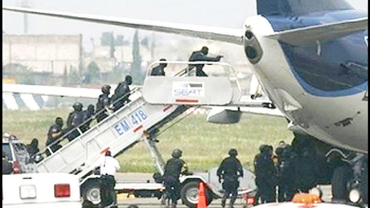 Avión secuestrado en China
