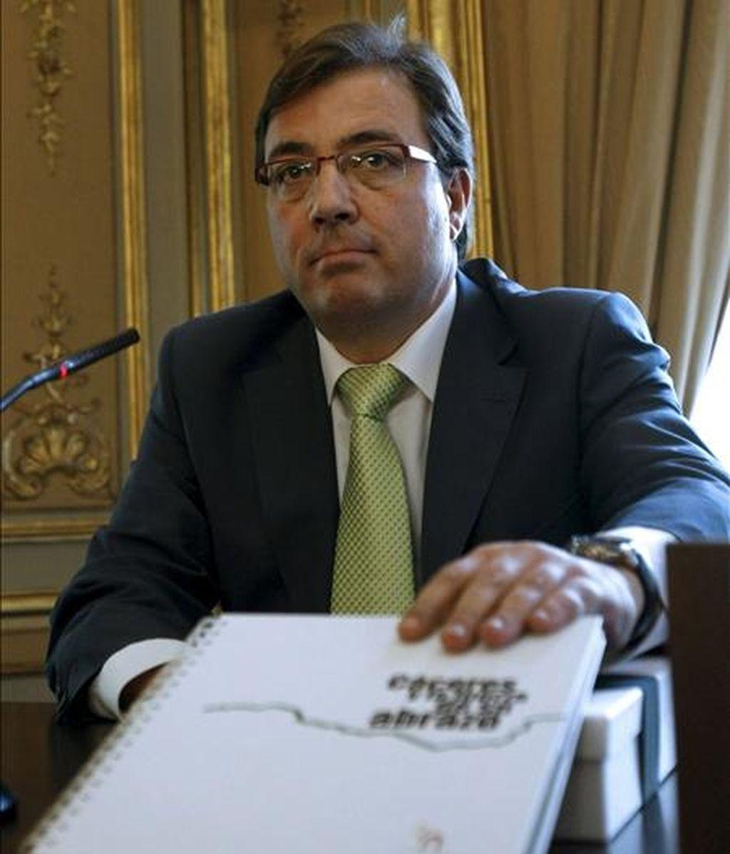 El presidente de Extremadura, Guillermo Fernández Vara. EFE/Archivo