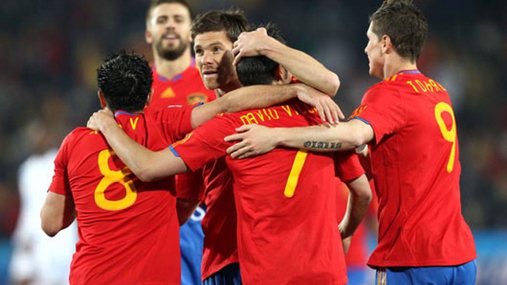 España es una piña en busca de las semifinales