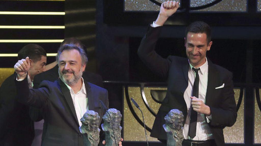 Marc Orts, Oriol Tarragó y Sergio Bürmann, Goya al Mejor Sonido por 'El Niño'