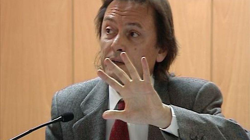 El presidente de Transparencia Internacional España, Jesús Lizcano. EFE/Archivo