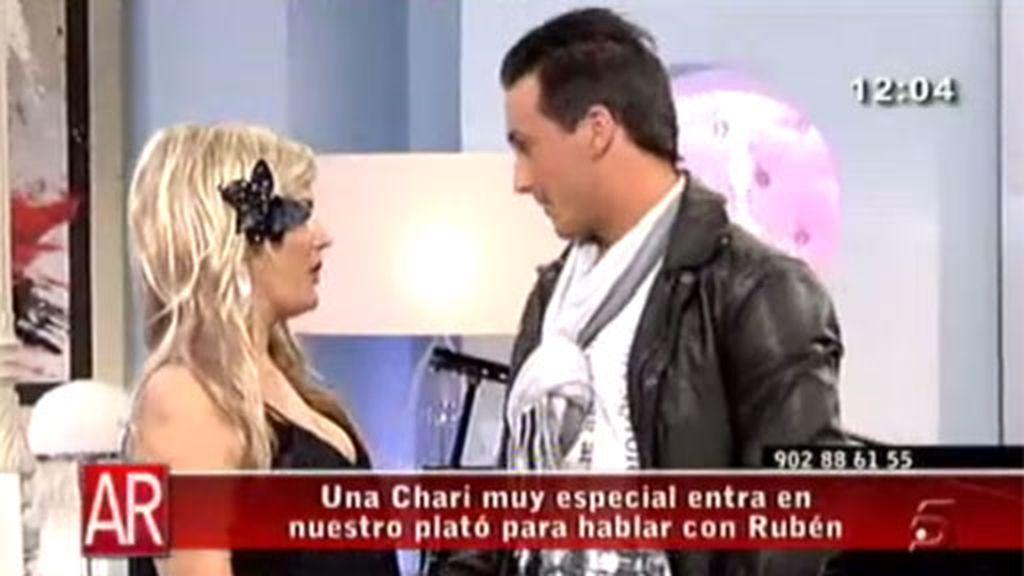 Marta López se viste de Chari