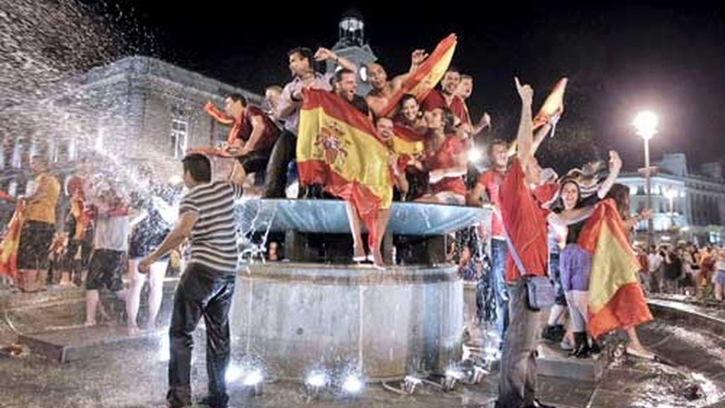 entusiasmo en madrid