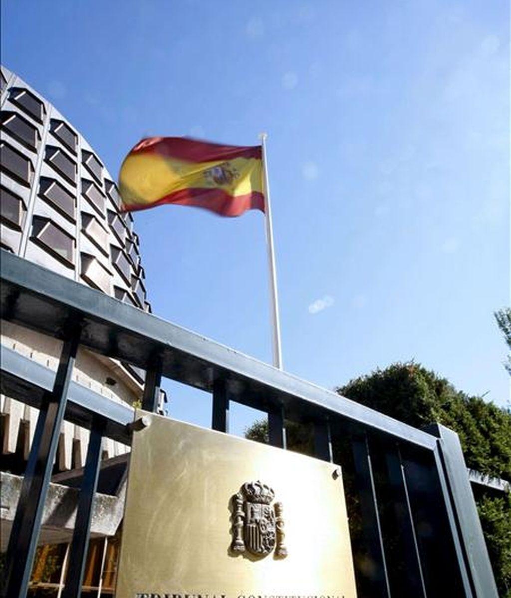 Fachada del edificio del Tribunal Constitucional, en Madrid. EFE/Archivo