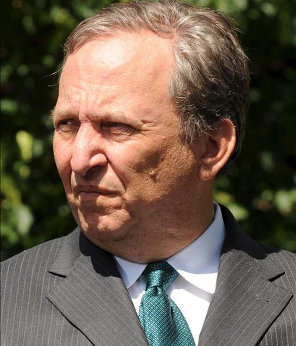 En la imagen, el director del Consejo Nacional Económico (NEC), Lawrence Summers. EFE/Archvo