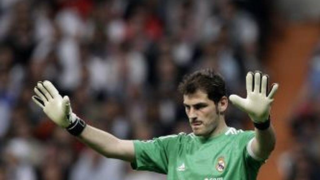 Casillas, durante un partido. Foto: Gtres