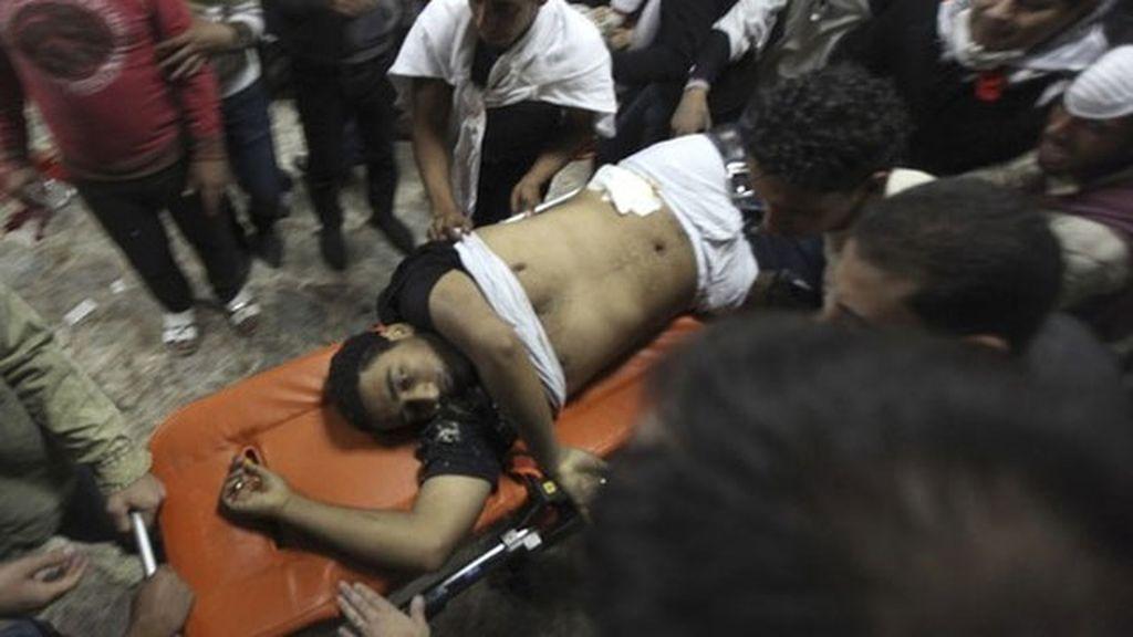 Baño de sangre en El Cairo