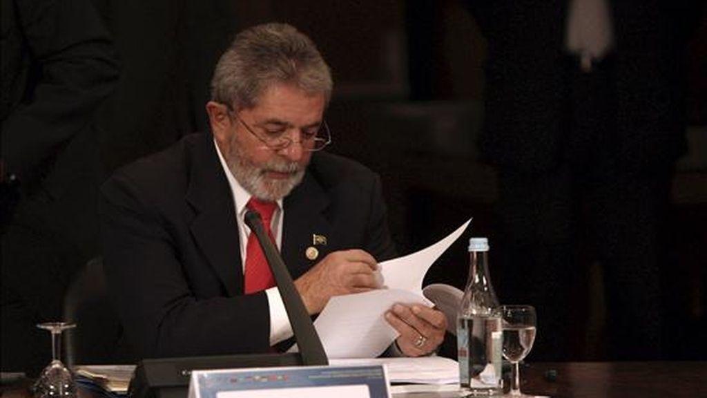 La delegación anfitriona será encabezada por el mandatario brasileño, Luiz Inácio Lula da Silva. EFE/Archivo