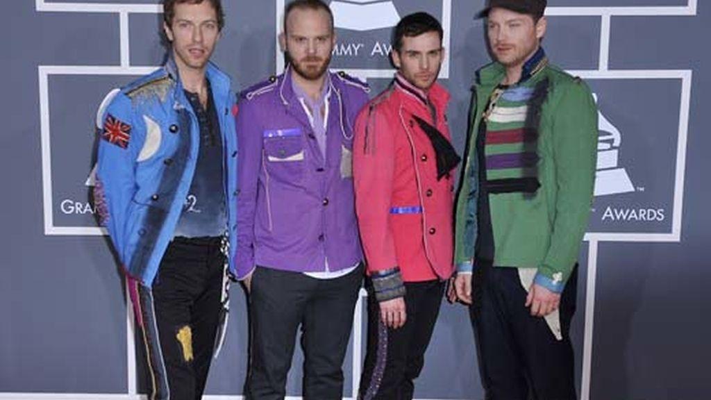 Coldplay fue el gran triunfador de la noche de la música. Vídeo: ATLAS