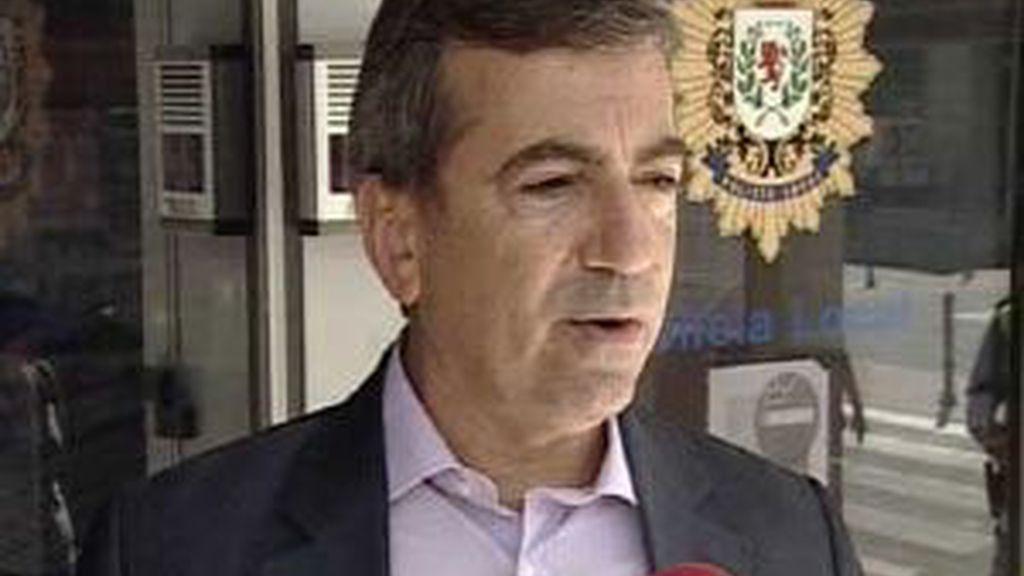 Ginés Jiménez era el cabecilla de los polícias corruptos en Coslada. FOTO: Telecinco