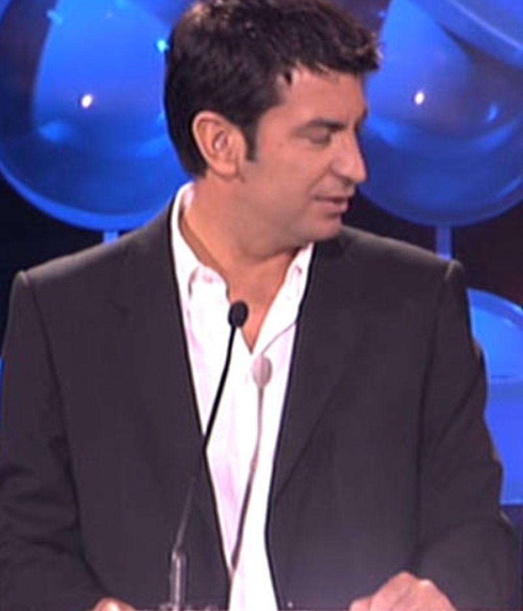 Los guapos de la gala de Telecinco