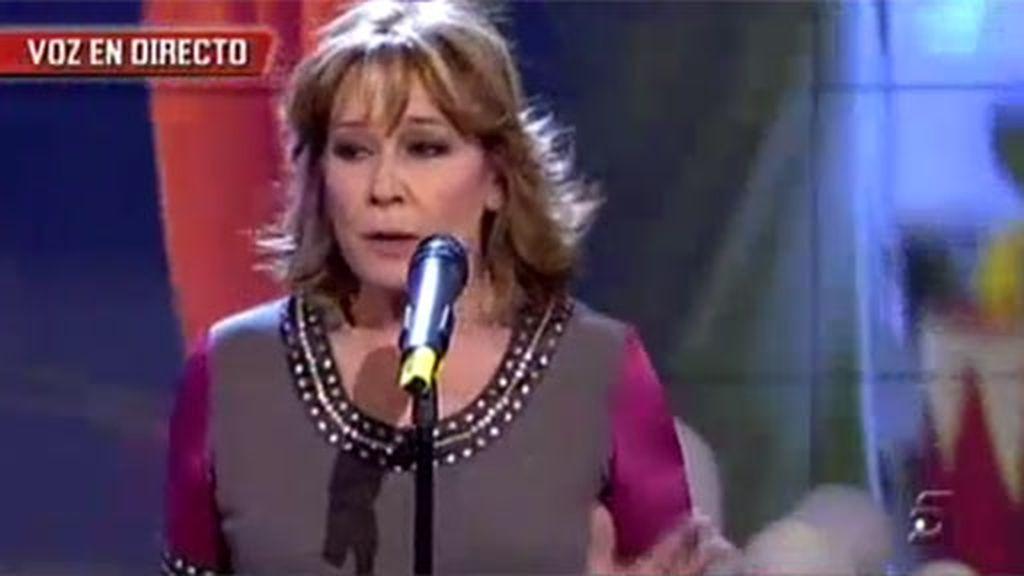 Mila, ahora cantante