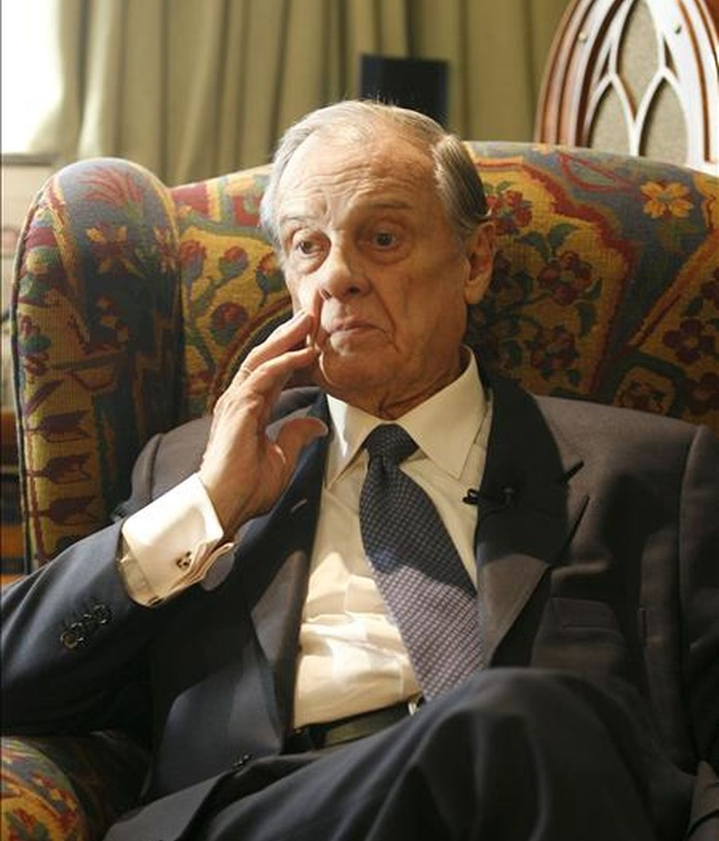 El ex jefe de la Casa del Rey Sabino Fernández Campo. EFE/Archivo