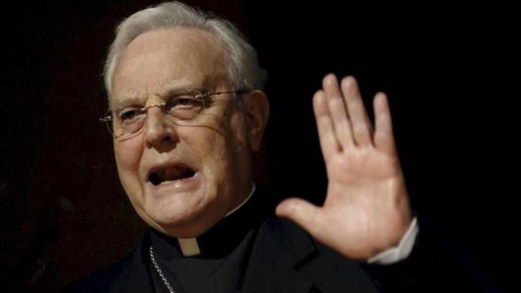 El cardenal Carlos Amigo. EFE/Archivo