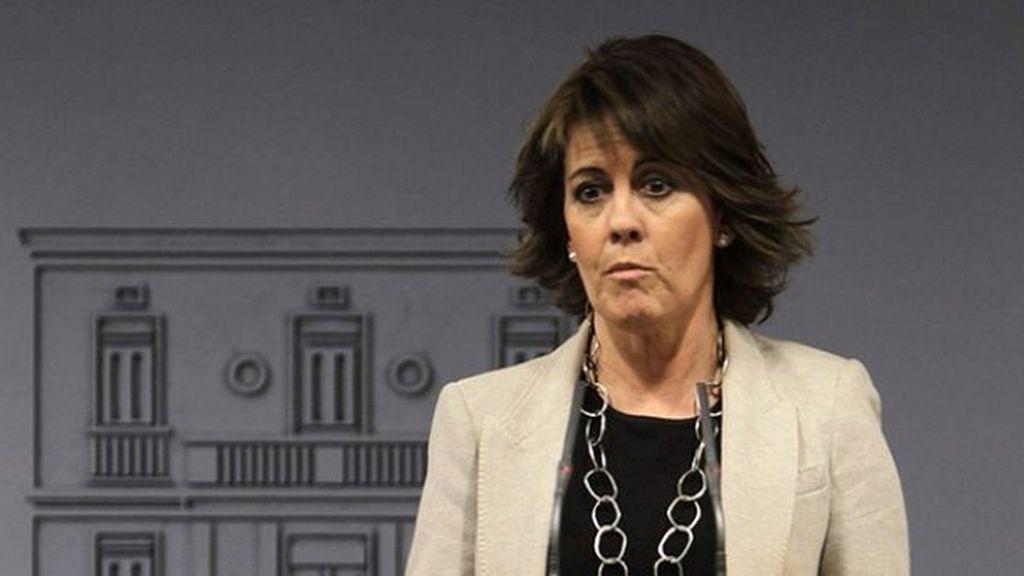 Yolanda Barcina, presidenta de Navarra