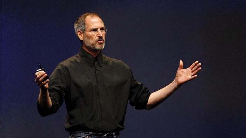 Steve Jobs se reincorporará a la empresa a finales de junio como estaba previsto pero, según The Wall Street Journal , sólo lo hará a tiempo parcial por recomendación médica. EFE/Archivo