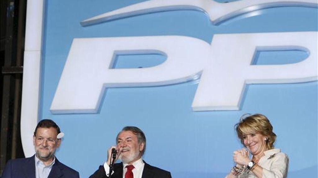 El líder del PP valora la victoria electoral. Vídeo: Informativos Telecinco