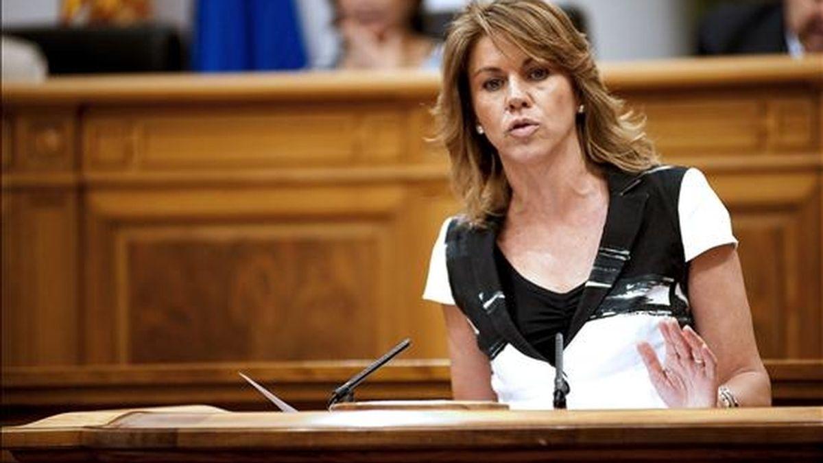 La presidenta regional del PP, María Dolores de Cospedal. EFE/Archivo