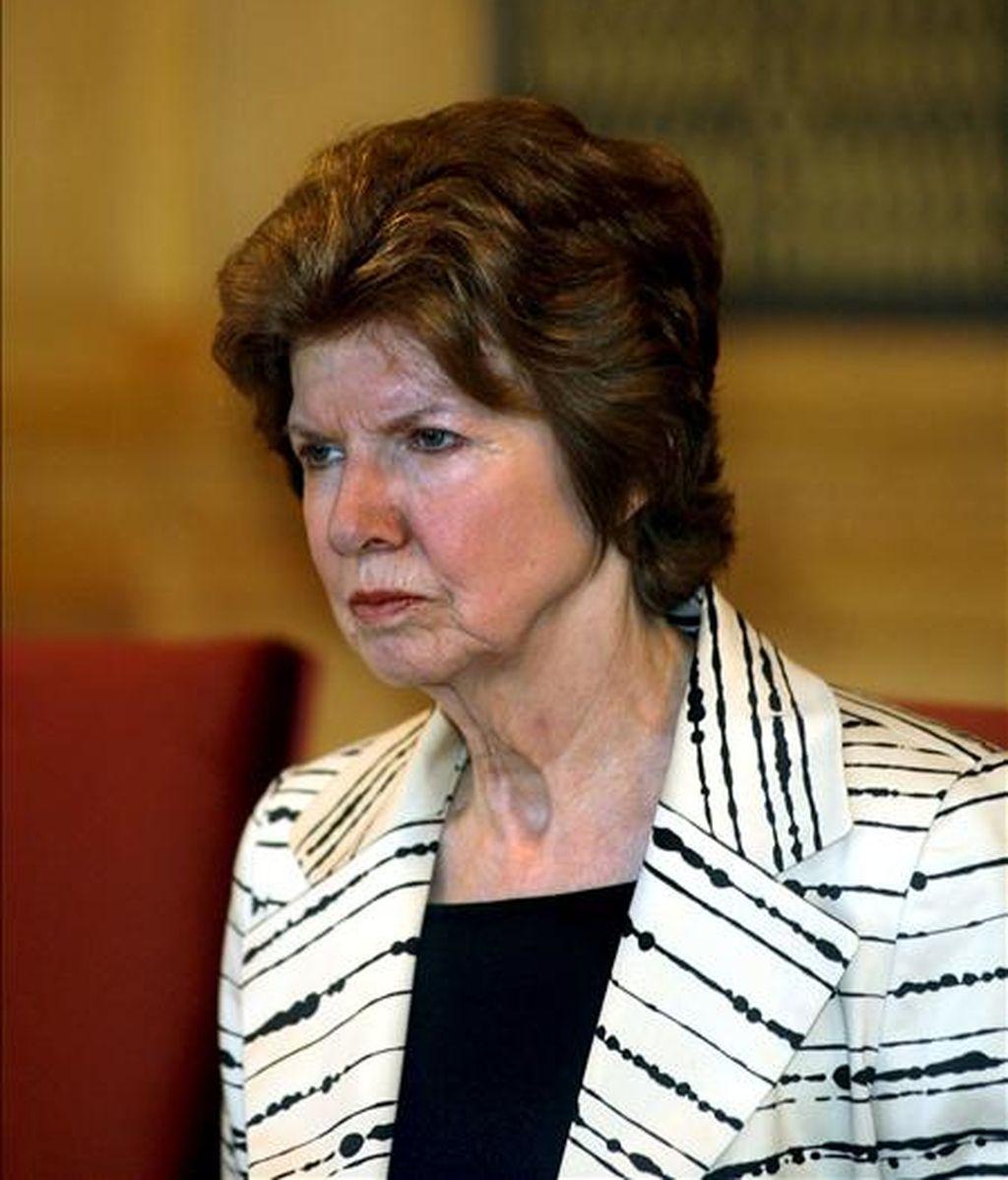 La presidenta de Transparencia Internacional, Huguette Labelle. EFE/Archivo