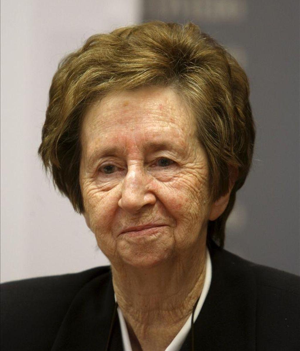 La científica española Margarita Salas. EFE/Archivo