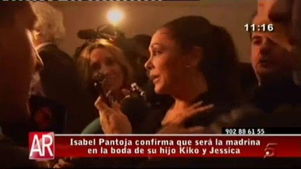 """Isabel Pantoja: """"Seré la madrina en la boda de mi hijo y Jessica"""""""