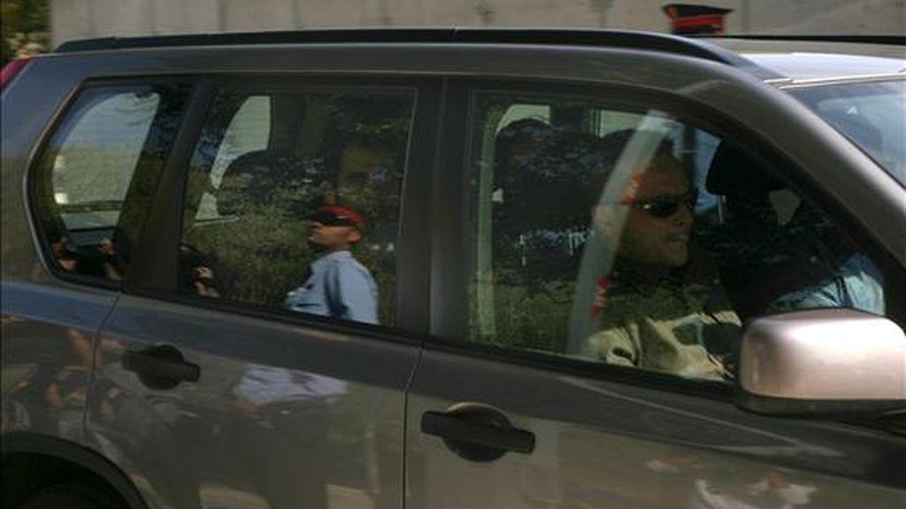 En detenido en un coche la policía autonómica. EFE/Archivo