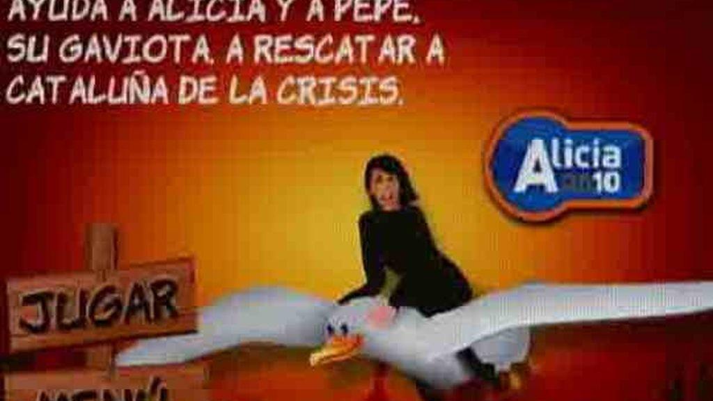 El PP retira el videojuego de 'Alicia Croft' para cambiar a los inmigrantes ilegales por mafias