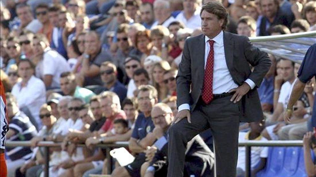 El entrenador del Hércules CF, Esteban Vigo. EFE/Archivo