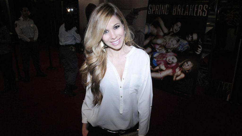 La cantante Natalia