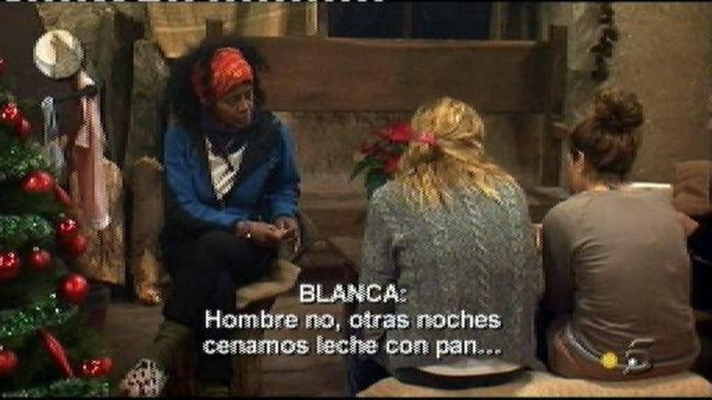 Blanca y Mª Ángeles no se soportan