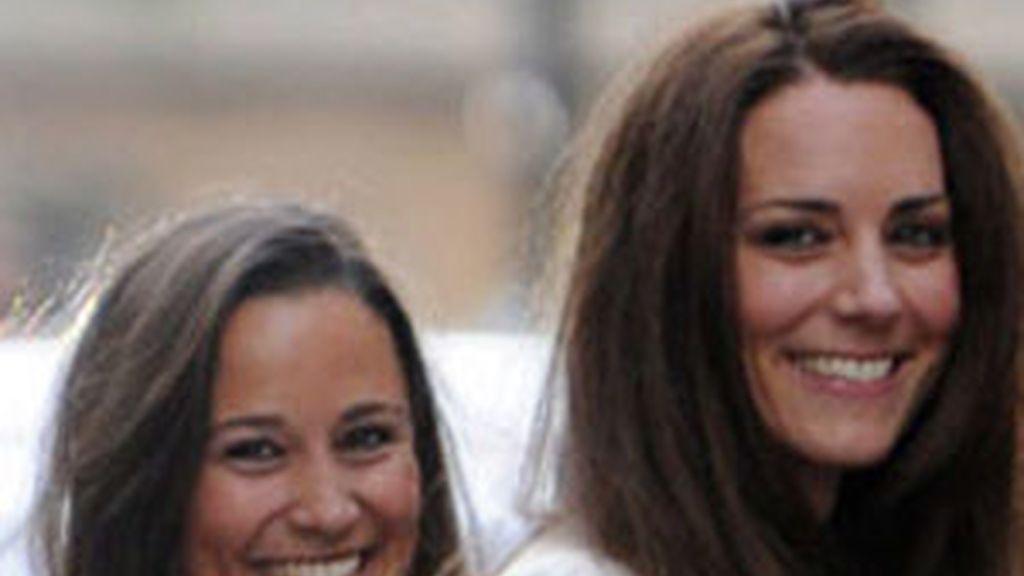 La Duquesa de Cambridge y su hermana, Pippa. Foto: Gtres.