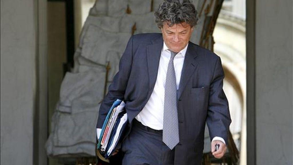 El ministro de Ecología francés, Jean Louis Borloo. EFE/Archivo
