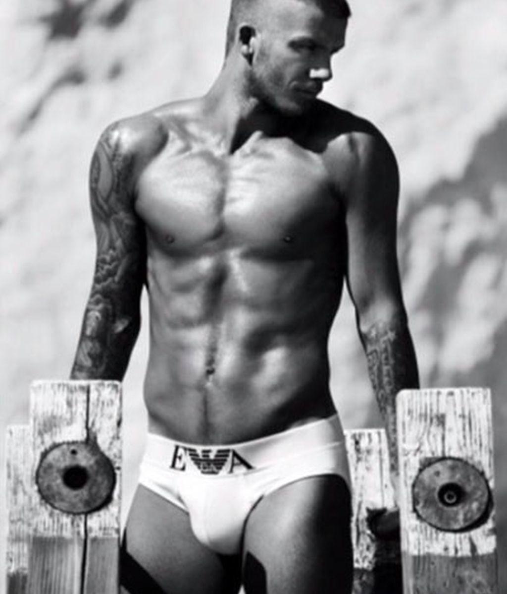 David Beckham, de nuevo al desnudo