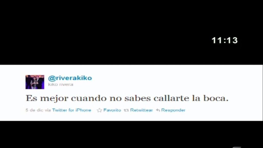 Twitter de Kiko Rivera