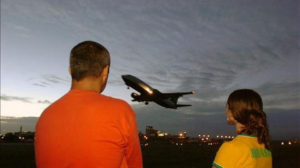 La Asociación Latinoamericana de Transporte Aéreo (Alta) indicó en un comunicado que en el tráfico, medido en la cantidad de los pasajeros transportados y multiplicado por la distancia recorrida, aumentó un 9,1%. EFE/Archivo