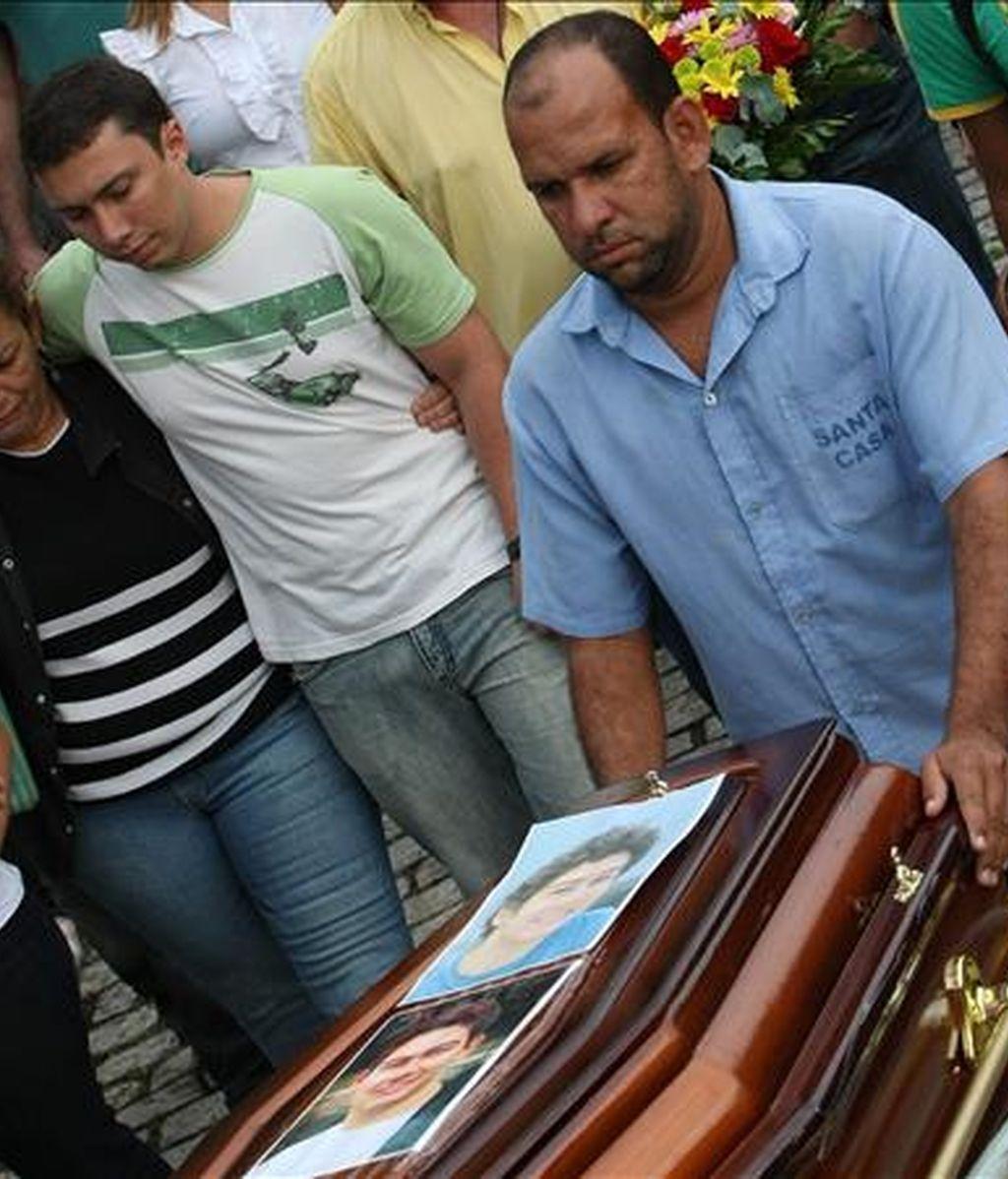 Aunque la Marina invitó a familiares de las víctimas a asistir a la ceremonia, ninguna viajó hasta Recife para poder participar en el acto. EFE/Archivo