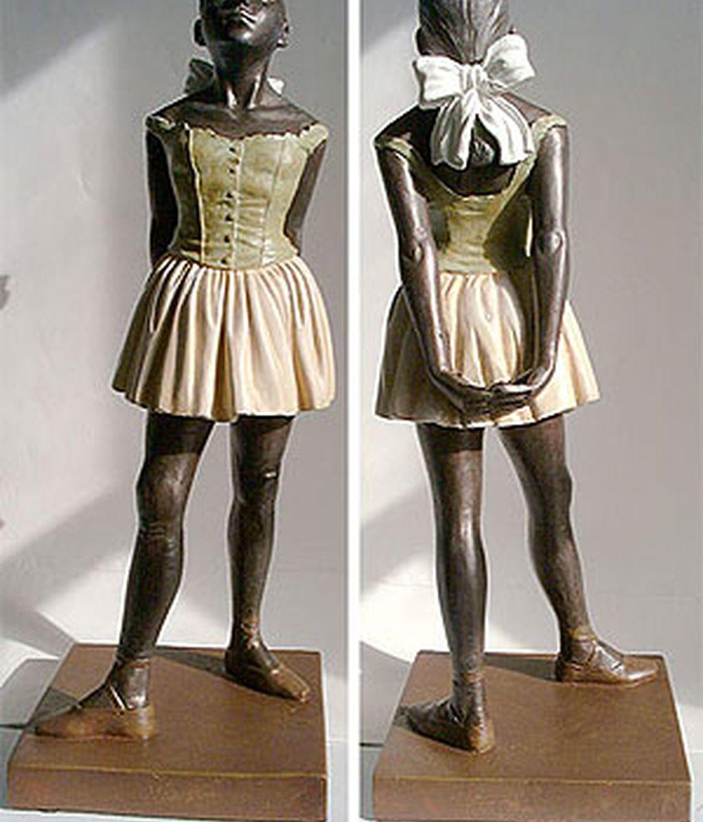 La estatua se exhibía desde 2004 en la Royal Academy, donde se conservaba en régimen de préstamo. Foto: Archivo.