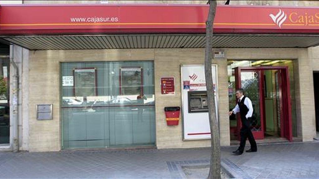 Oficina de Cajasur en Madrid. EFE/Archivo