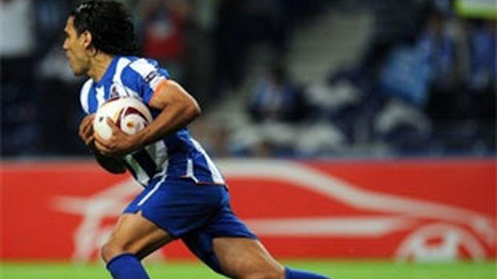 Falcao fue el héroe del Oporto: cuatro goles ante el Villarreal. Foto: AP