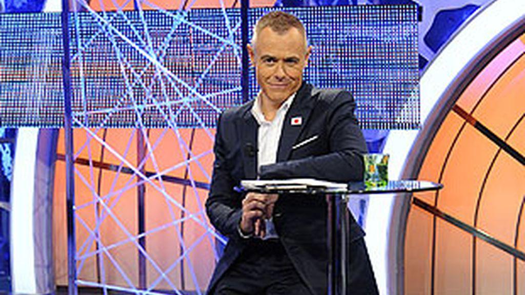 Jordi Gonzáles, presentador de 'El Reencuentro'.