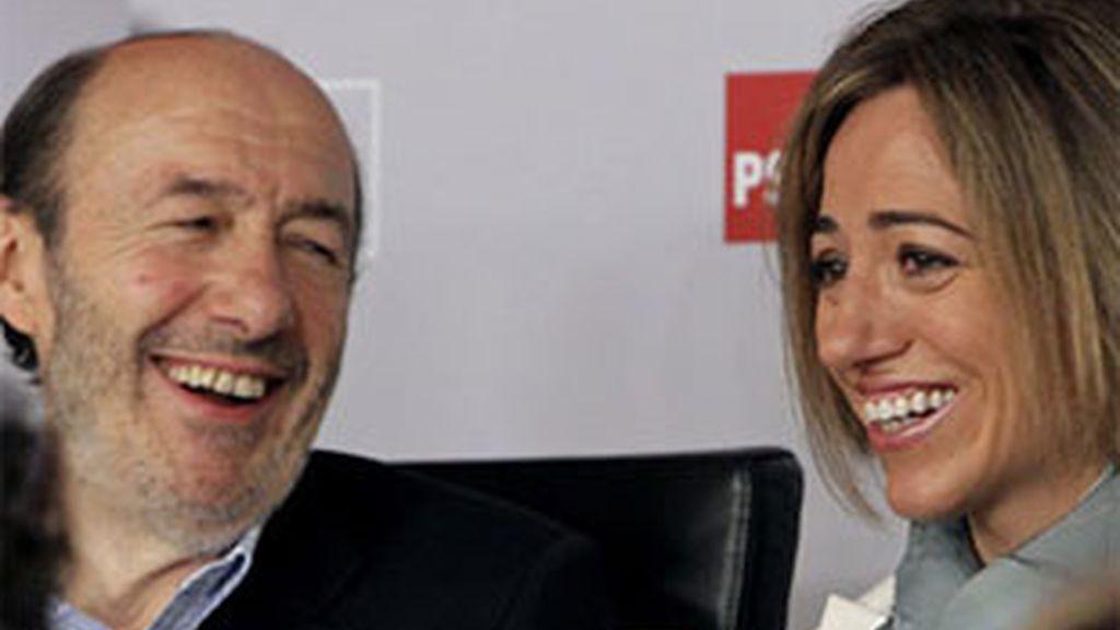 La ministra carga en Tomelloso contra Rajoy y De Cospedal. Vídeo: Informativos Telecinco.