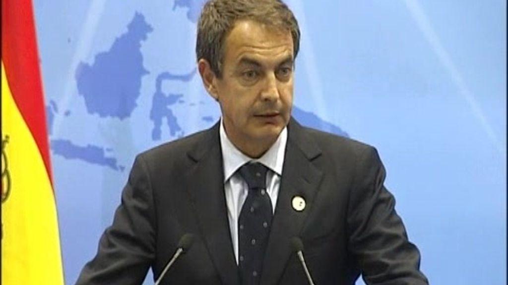 Zapatero asegura que los problemas de Irlanda afecta a España