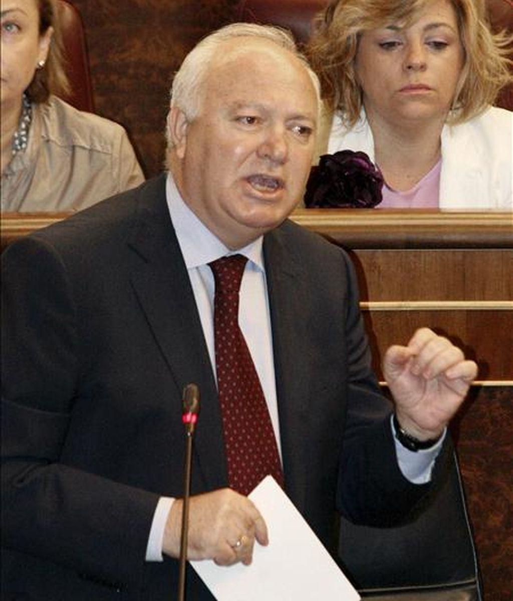 El ministro de Asuntos Exteriores, Miguel Ángel Moratinos. EFE/Archivo