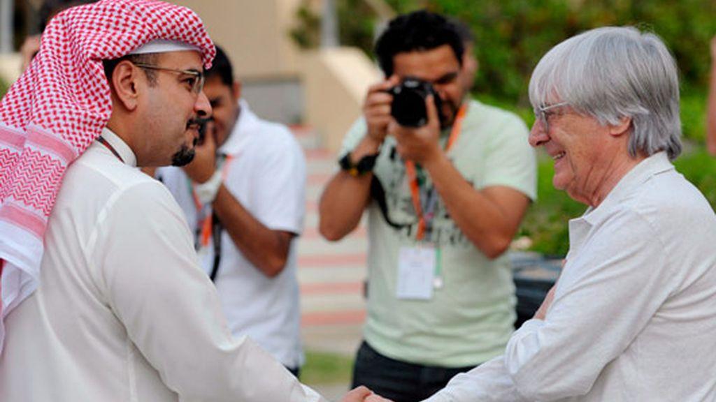 eCCLESTONE, EN BAHREIN