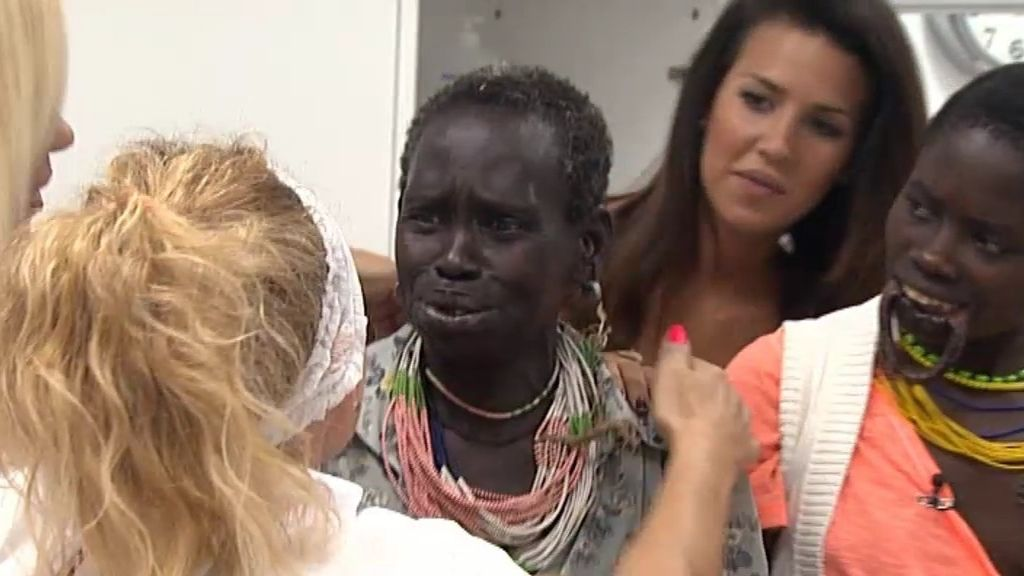 Las lágrimas de Nga Bilé con el bótox