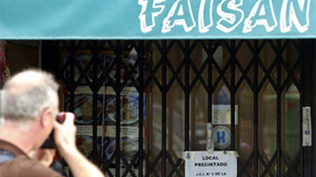 Fachada del bar 'Faisán'. Foto: archivo EFE