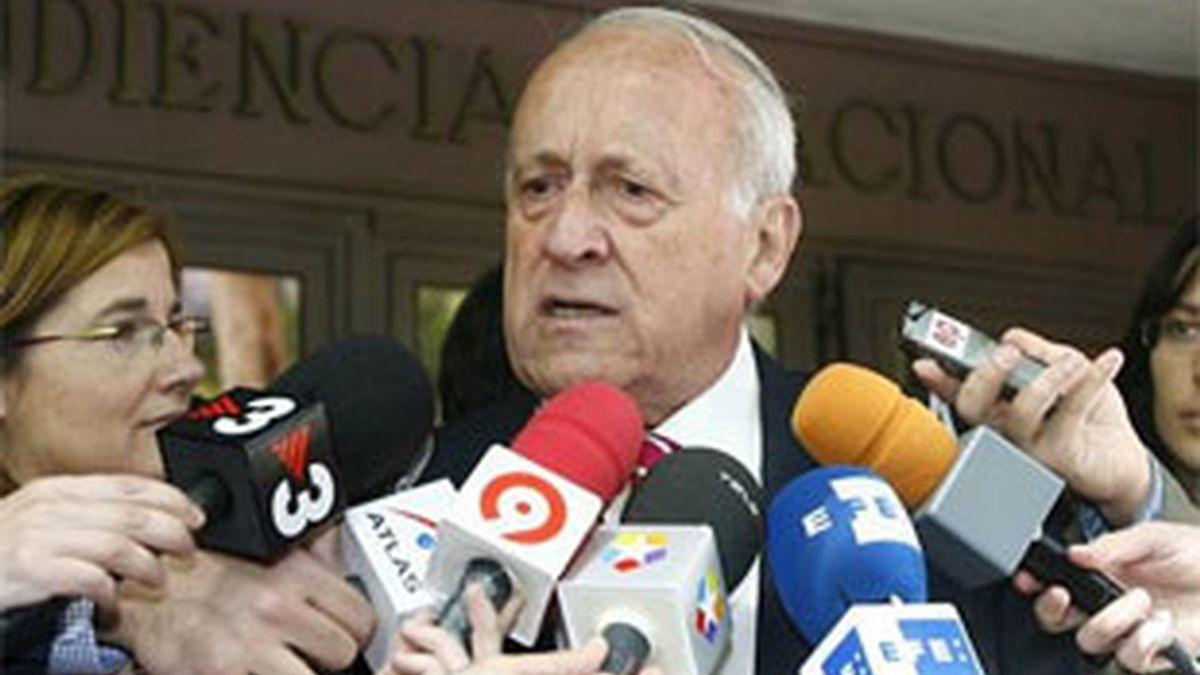 Imagen de archivo del ex presidente del PNV, Xabier Arzalluz. Foto: EFE.