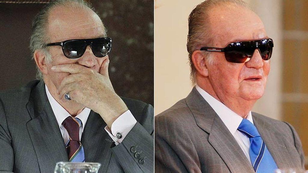 Las gafas de sol del Rey Don Juan Carlos