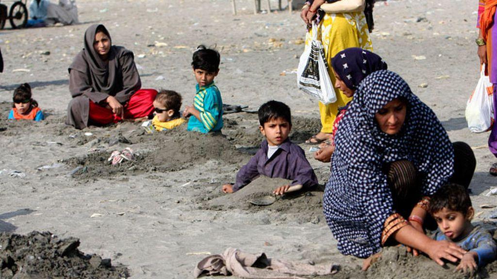 Costumbre común en Pakistán