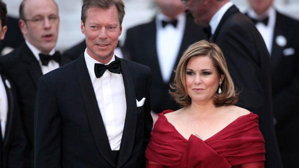 El duque Enrique y María Teresa de Luxemburgo
